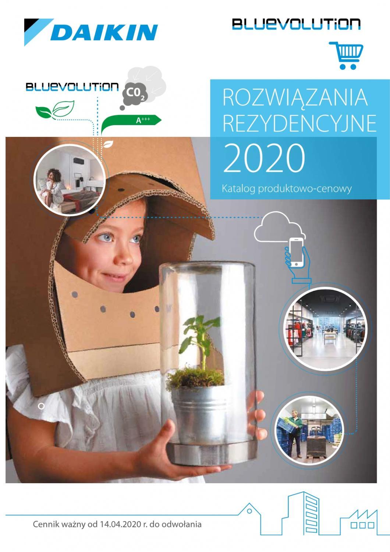 Katalog/Cennik Daikin 2020